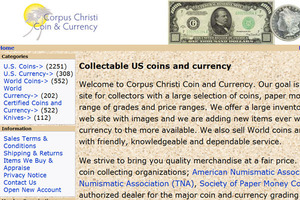 Corpus Christi Coin & Currency