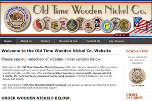 Old Time Wooden Nickel Co.