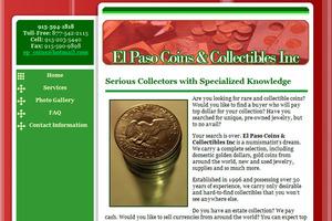 El Paso Coins & Collectible Inc