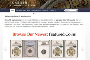 Bozarth Numismatics, Inc