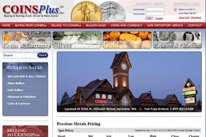 Coins Plus, Inc