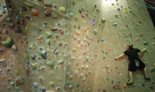Old Town Indoor Rock Climbing - THE LEDGE « IndoorWalls « Your ...