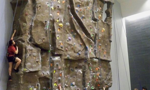 University of Illinois at Chicago Climbing Wall « IndoorWalls « Your ...