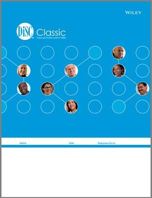 DiSC Classic; Inscape DiSC, Blue DiSC, DiSC 2800, Paper DiSC, DiSC Questionnaire