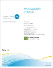 Everthing DiSC® Management Profile