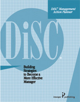 paper, blue, action planner, DiSC Management, directing, coaching, delegating, supporting