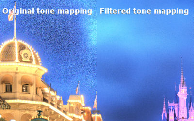 HDR Image Noise Estimation for Denoising Tone Mapped Images