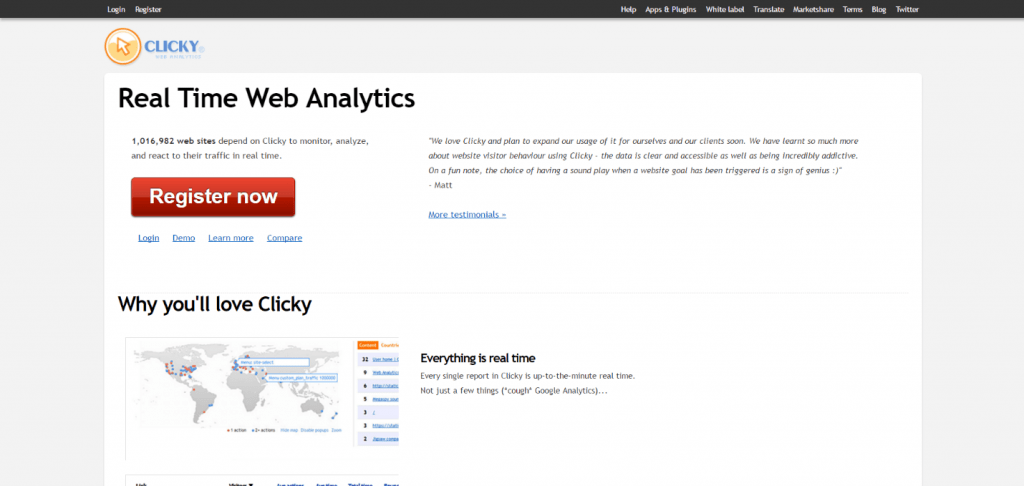 clicky-website-analytics
