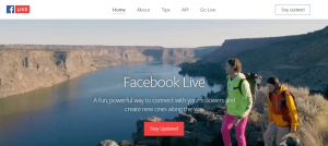 Facebook-Live streaming video platforms