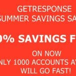 Huge Discount for GetResponse Autoresponder!