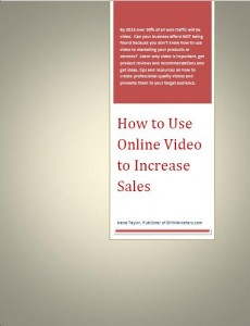 Marketing with video ebook