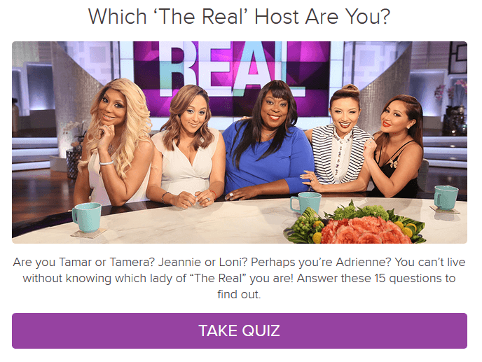 The hosts of the view