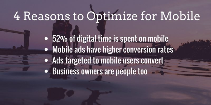 4 Reasons to Optimize for Mobile