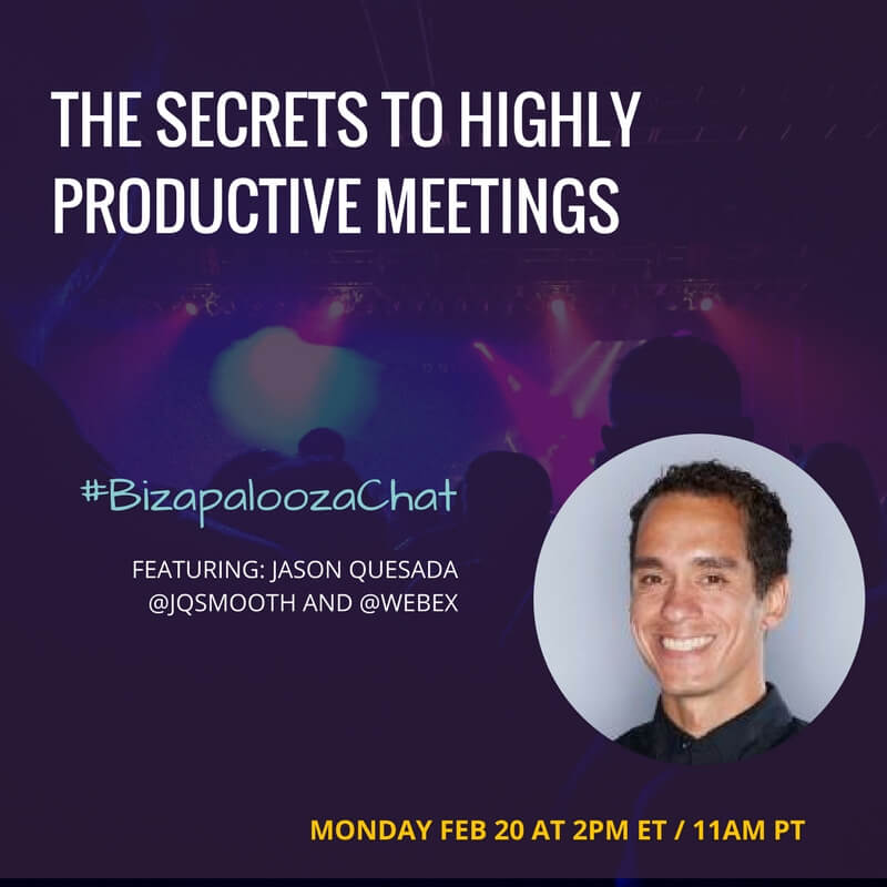 Jason Quesad-bizapalooza chat