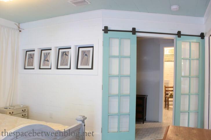 23 diy modern barn doors a perfect marriage of function for French door barn door