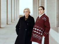 Silvia Venturini Fendi and Delfina Delettrez hear each other clearly across the generational gap