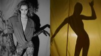 Leather and lace: Channeling the indulgent glamour of the 1980s
