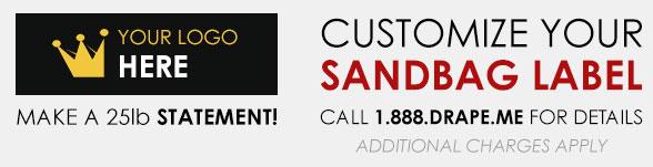 Customize your sandbag label