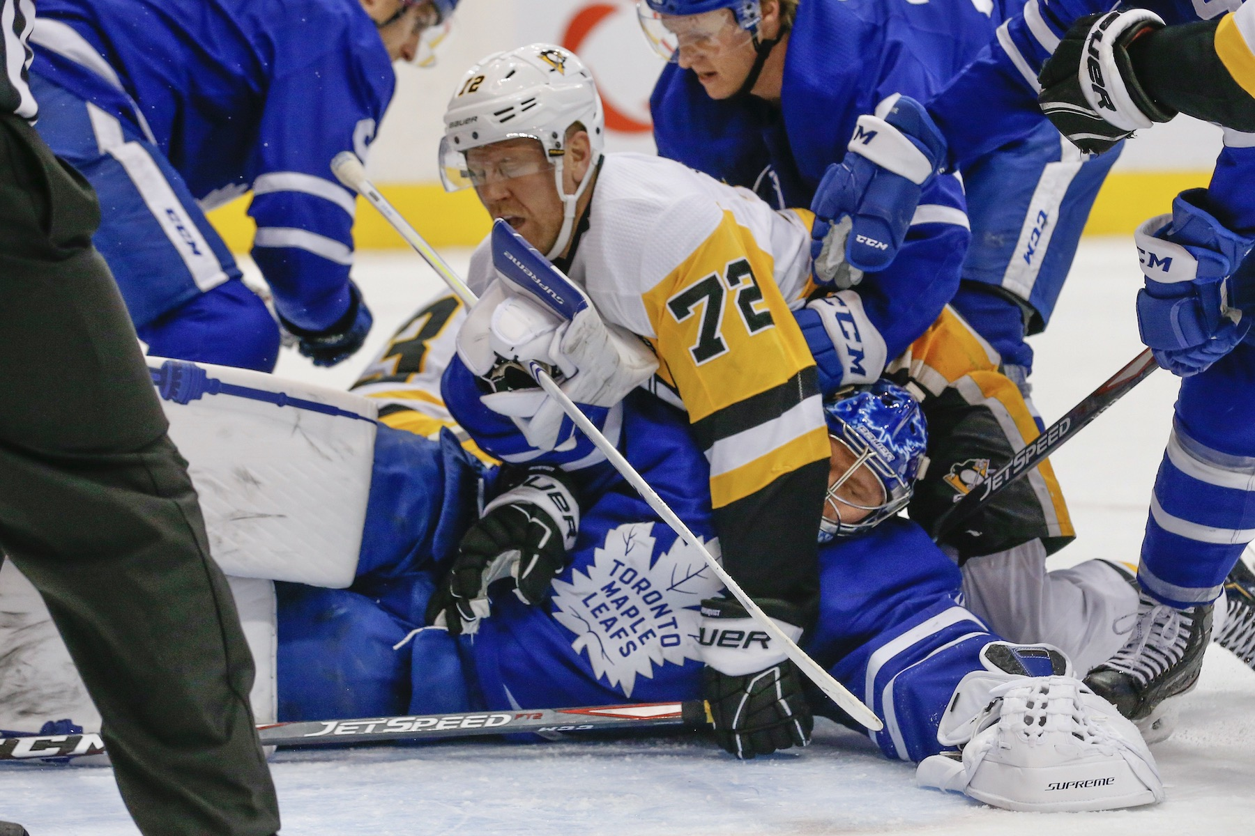 Leafs Report Cards: Penguins pulverized in Toronto's best game of the season
