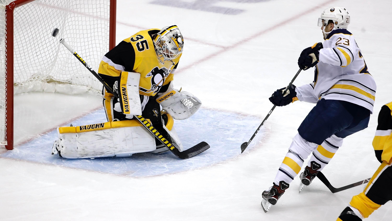Jeff Skinner scores first goal since December, Sabres defeat Penguins 5-2