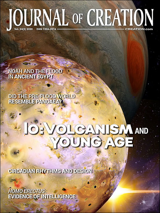Journal of Creation Volume 34(2) Cover