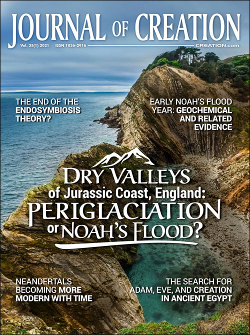 Journal of Creation Volume 35(1) Cover