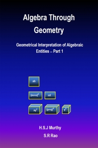 Algebra Through Geometry: Geometrical Interpretation of Algebraic Entities – Part 1