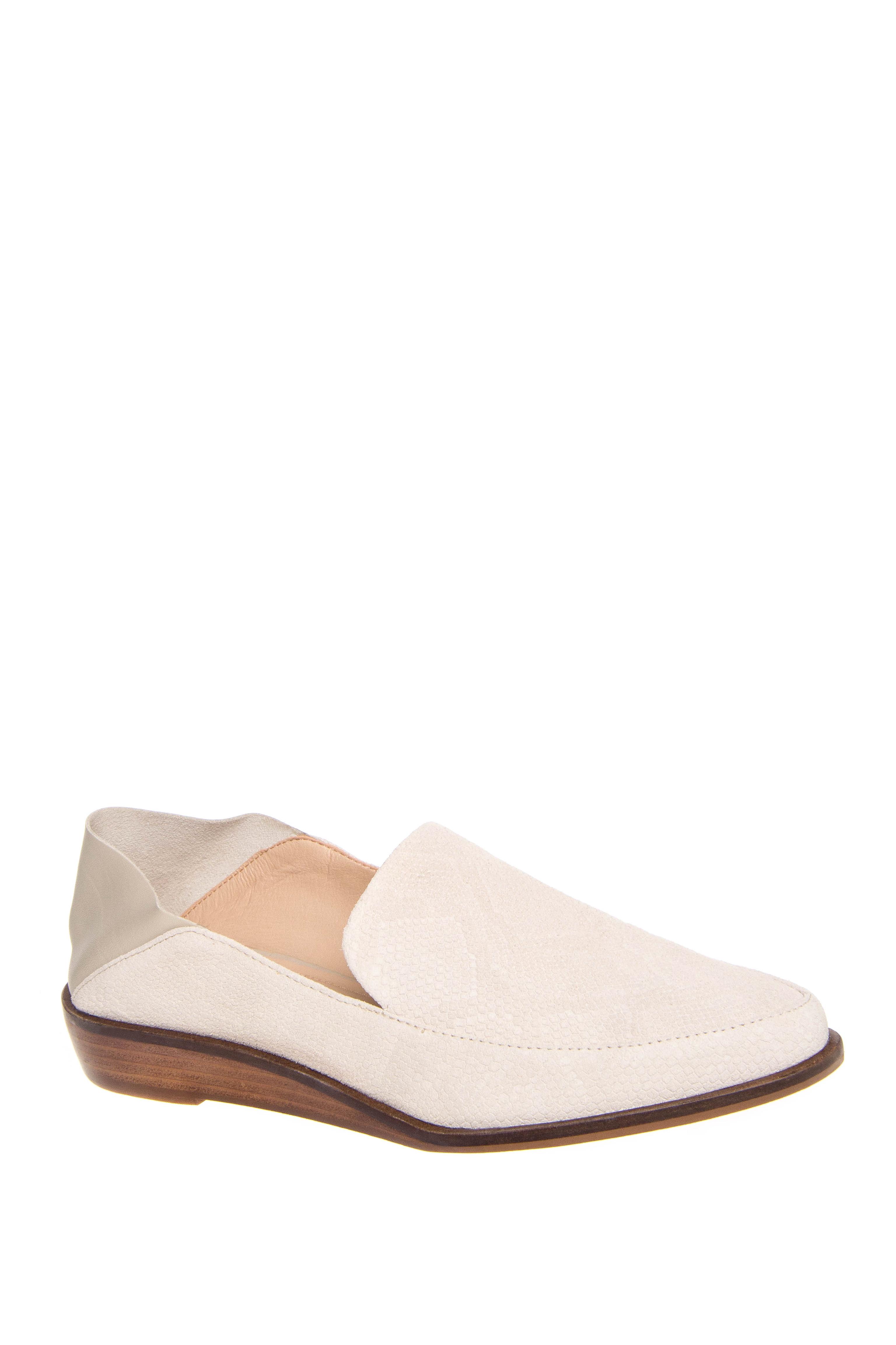 Kelsi Dagger AADA Low Heel Loafers - Ivory