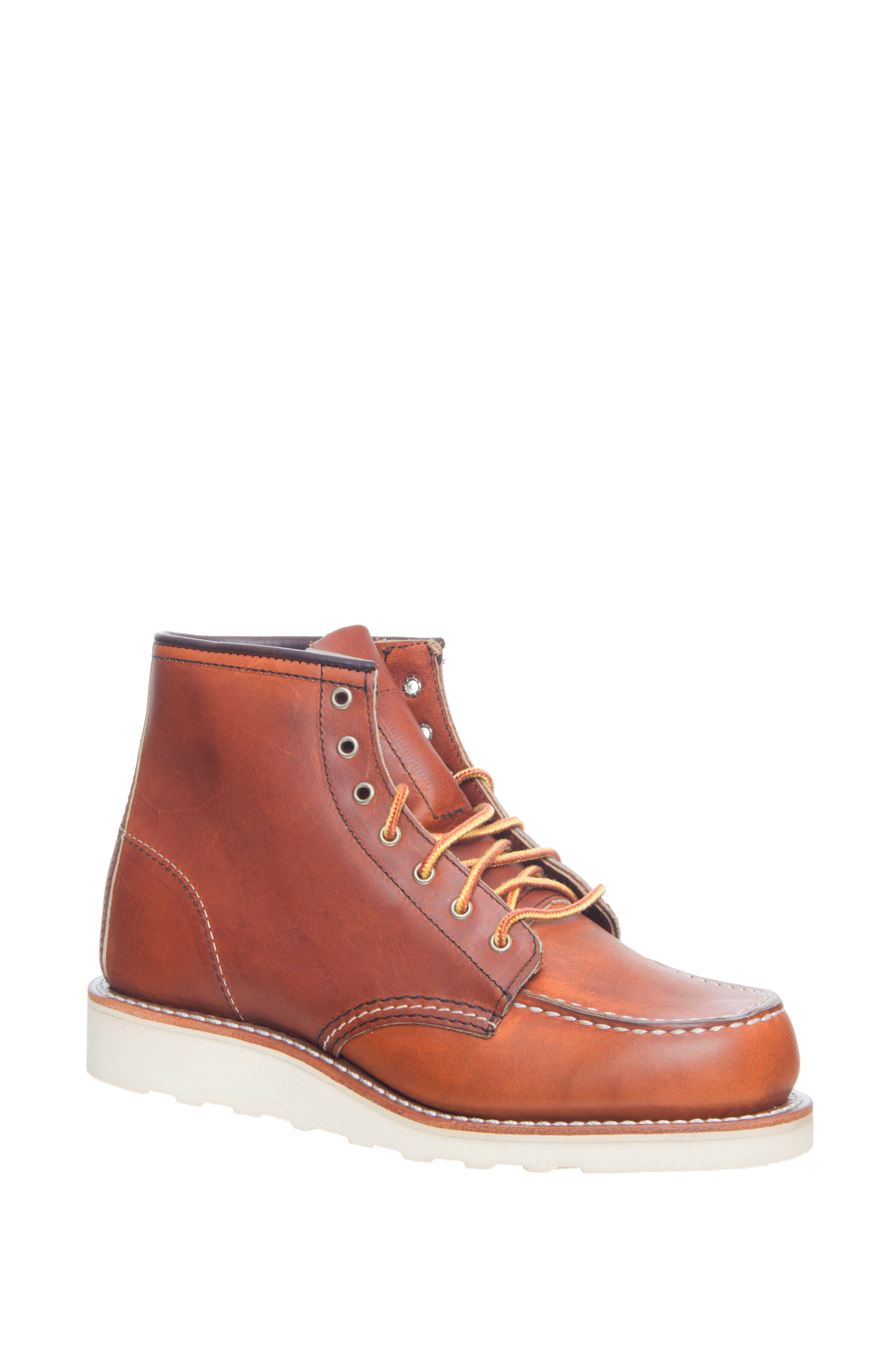 Red Wing 6 inch Classic Moc Toe Boots - Oro Legacy