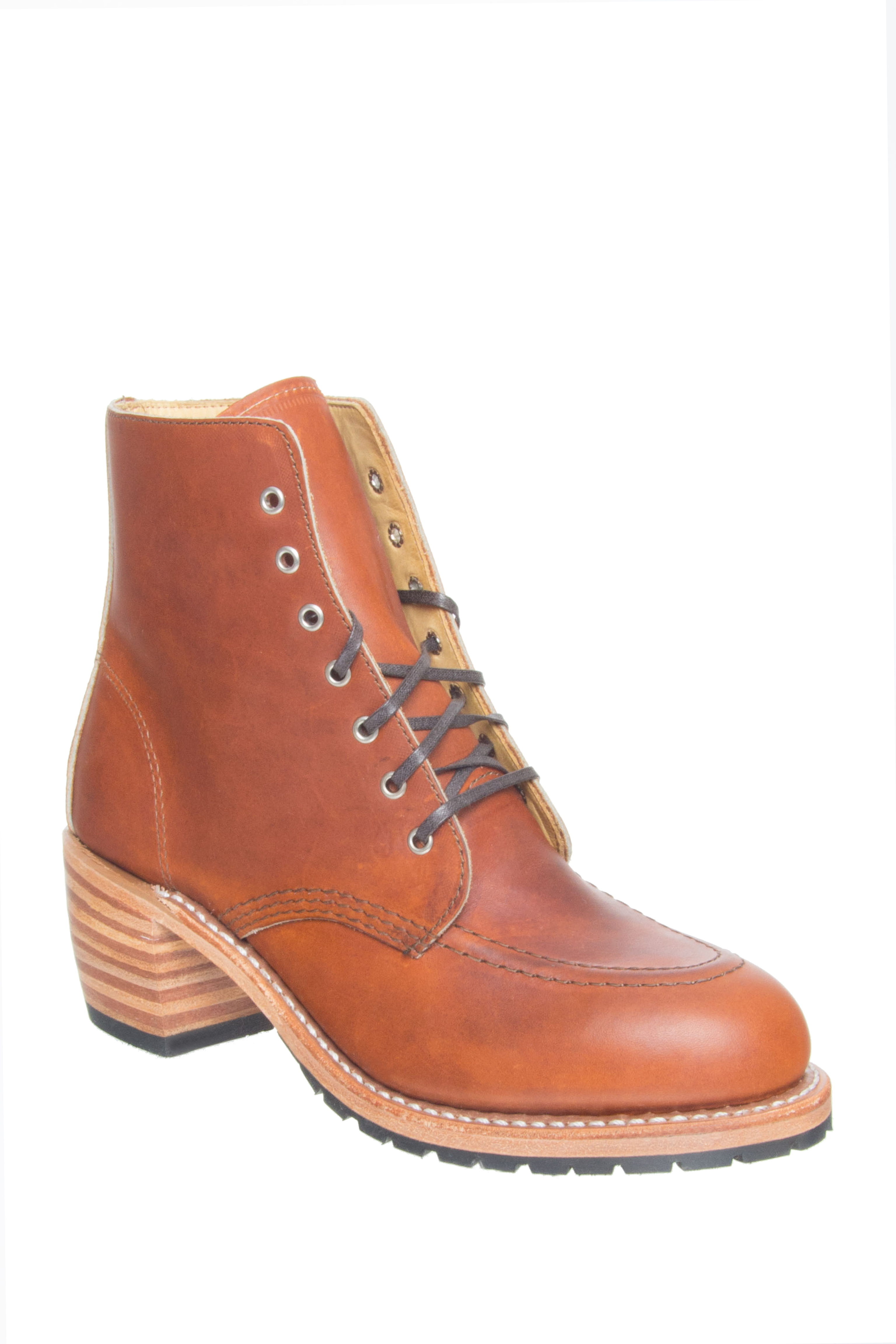 Red Wing Clara Mid Heel Boots - Oro