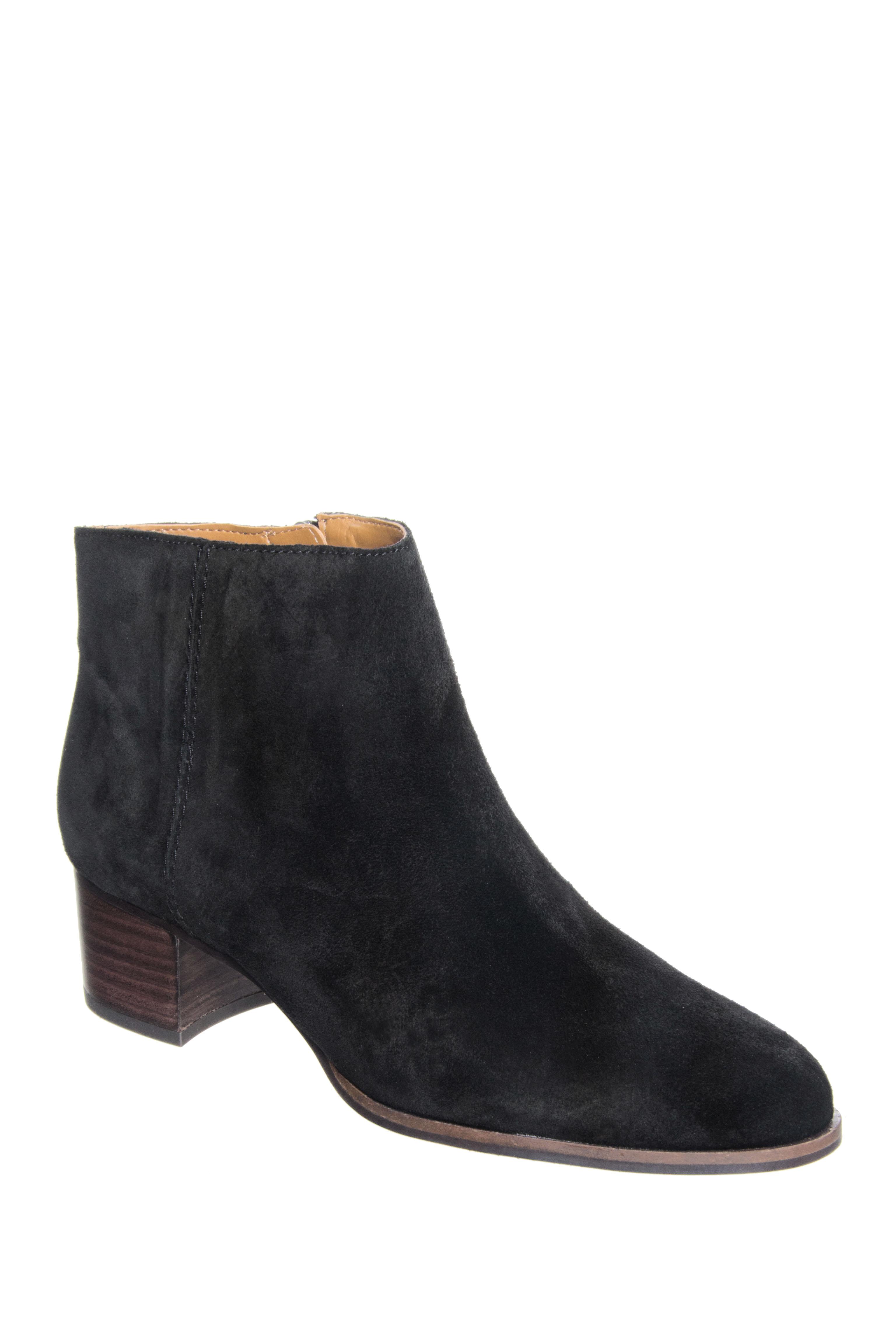 Franco Sarto Catina Mid Heel Booties - Black
