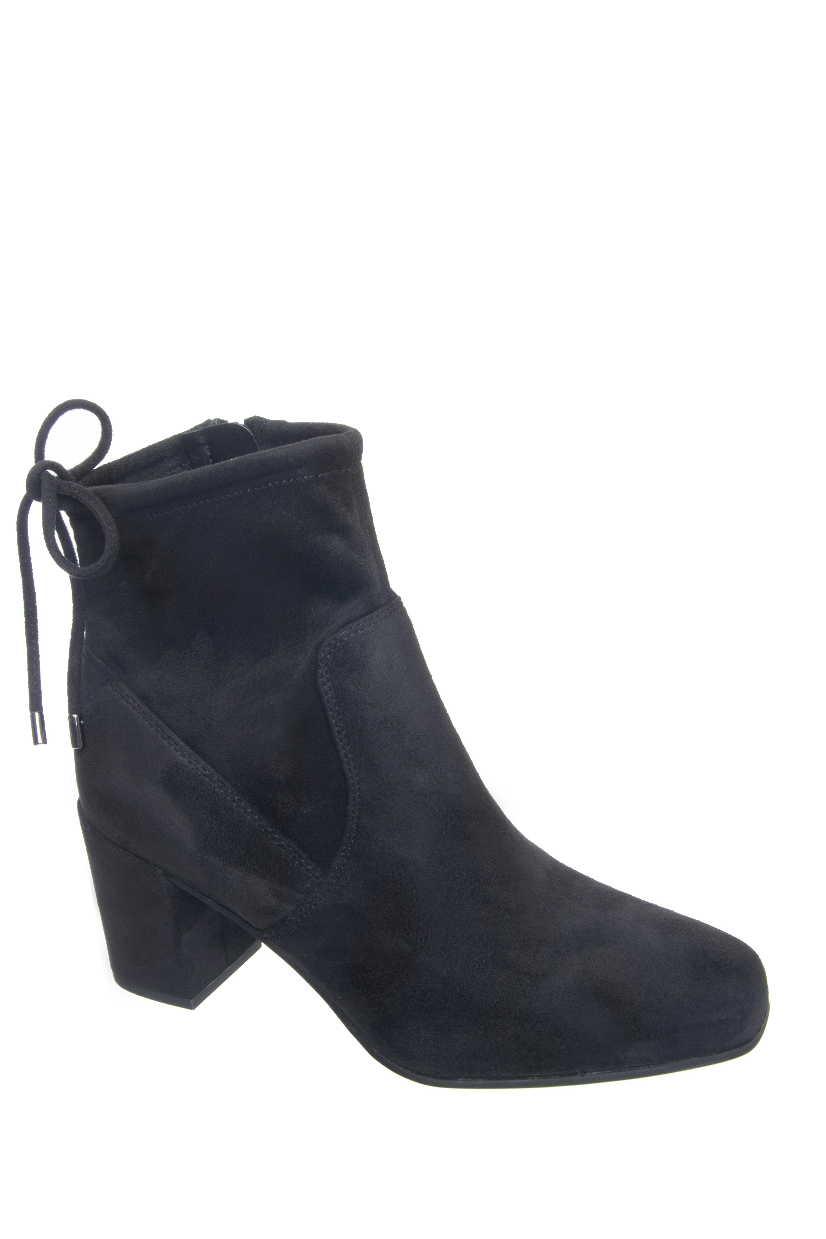 Franco Sarto Pisces Mid Heel Booties - Black