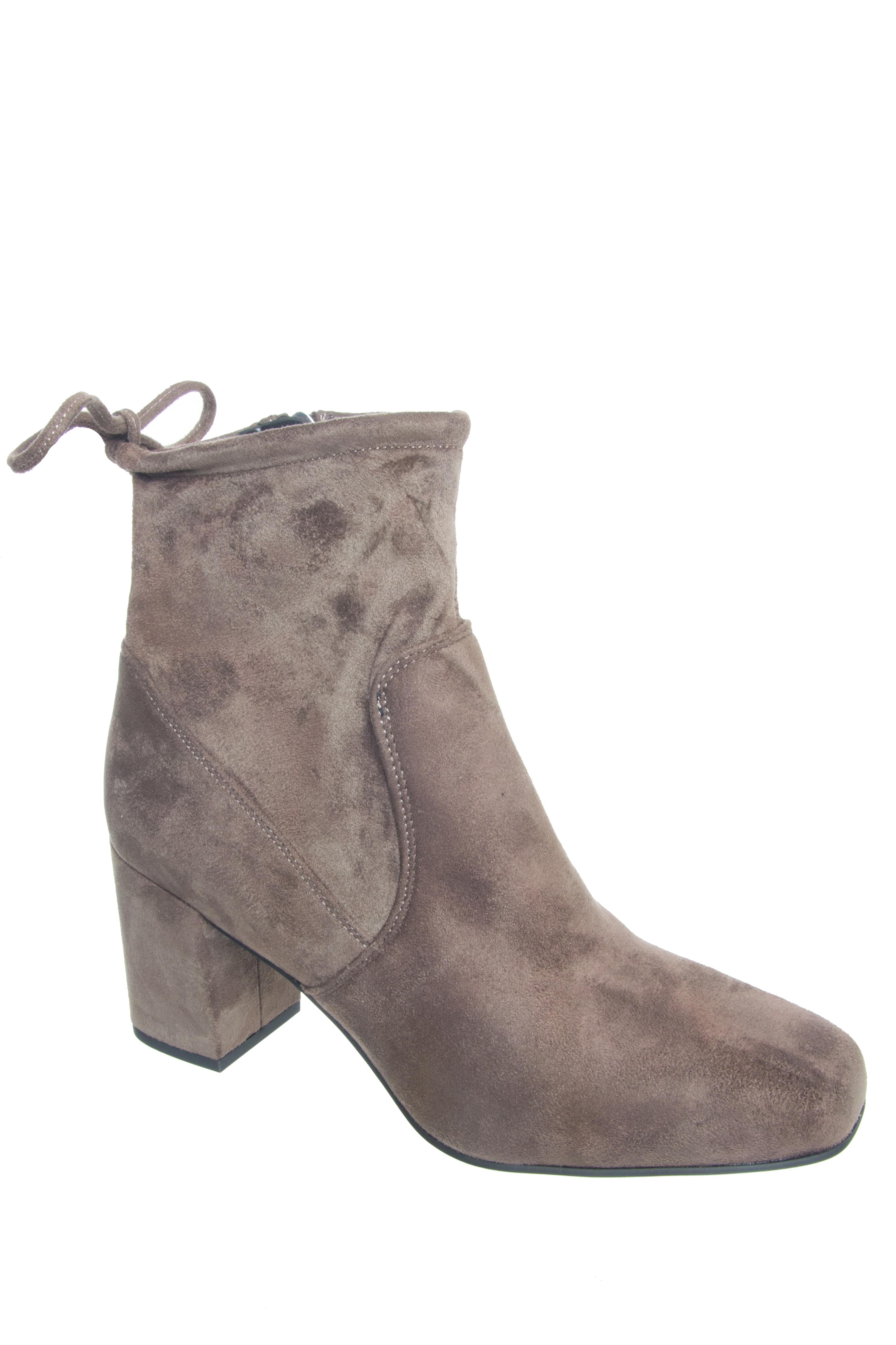 Franco Sarto Pisces Mid Heel Booties - Taupe