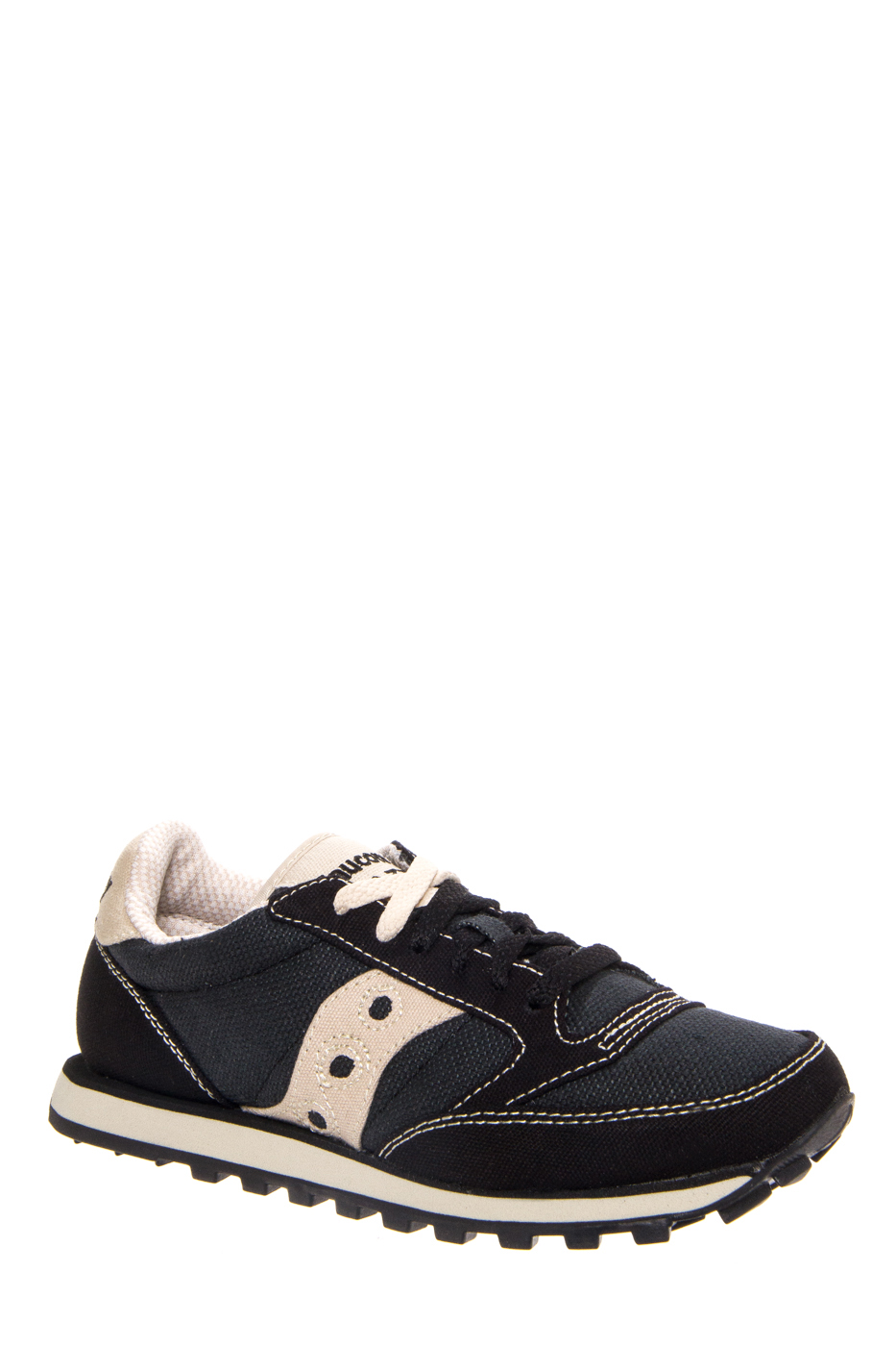 Saucony Jazz Low Pro Vegan Sneakers - Black / Oatmeal