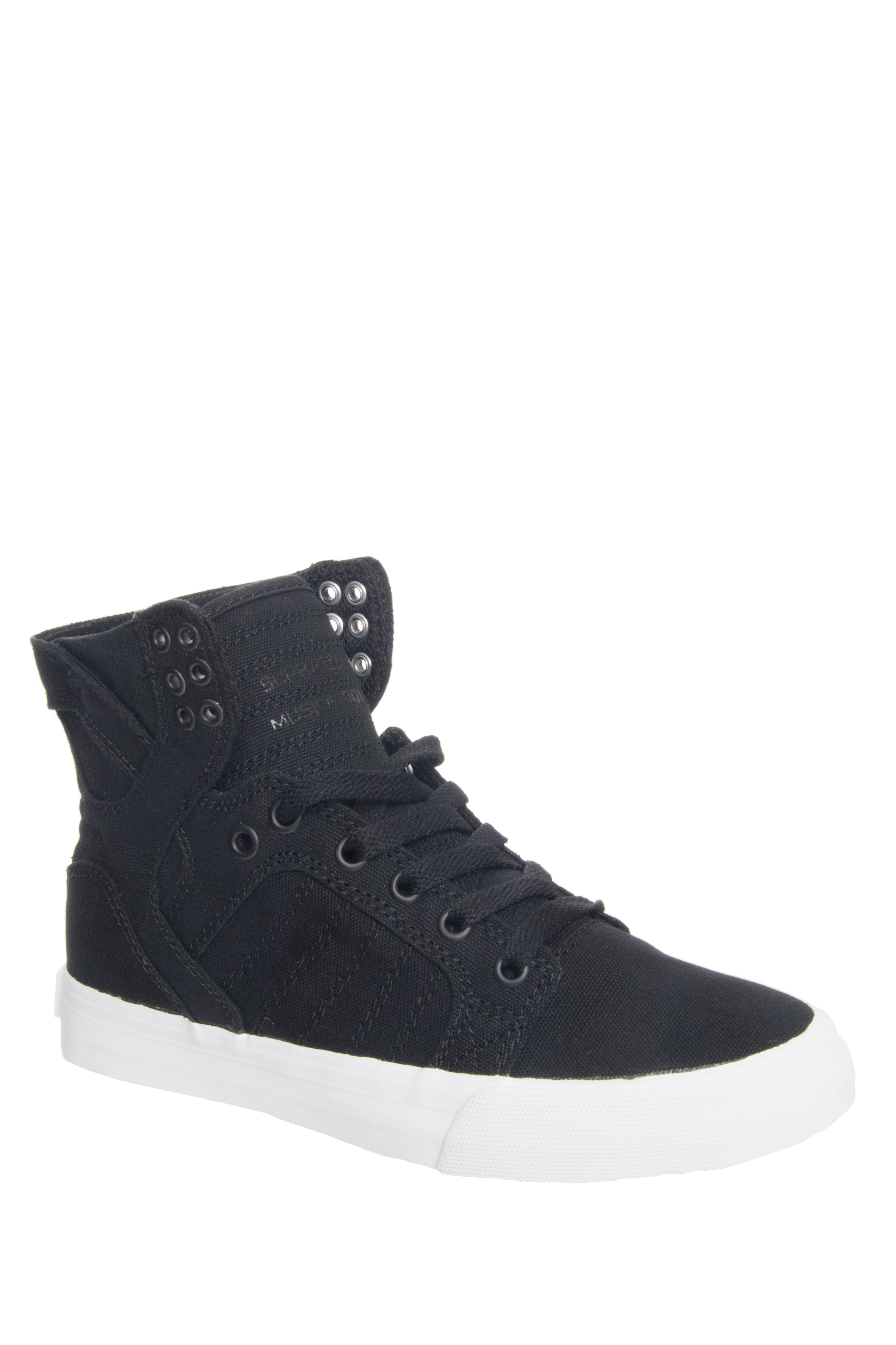 Supra Skytop D High Top Sneakers - Black
