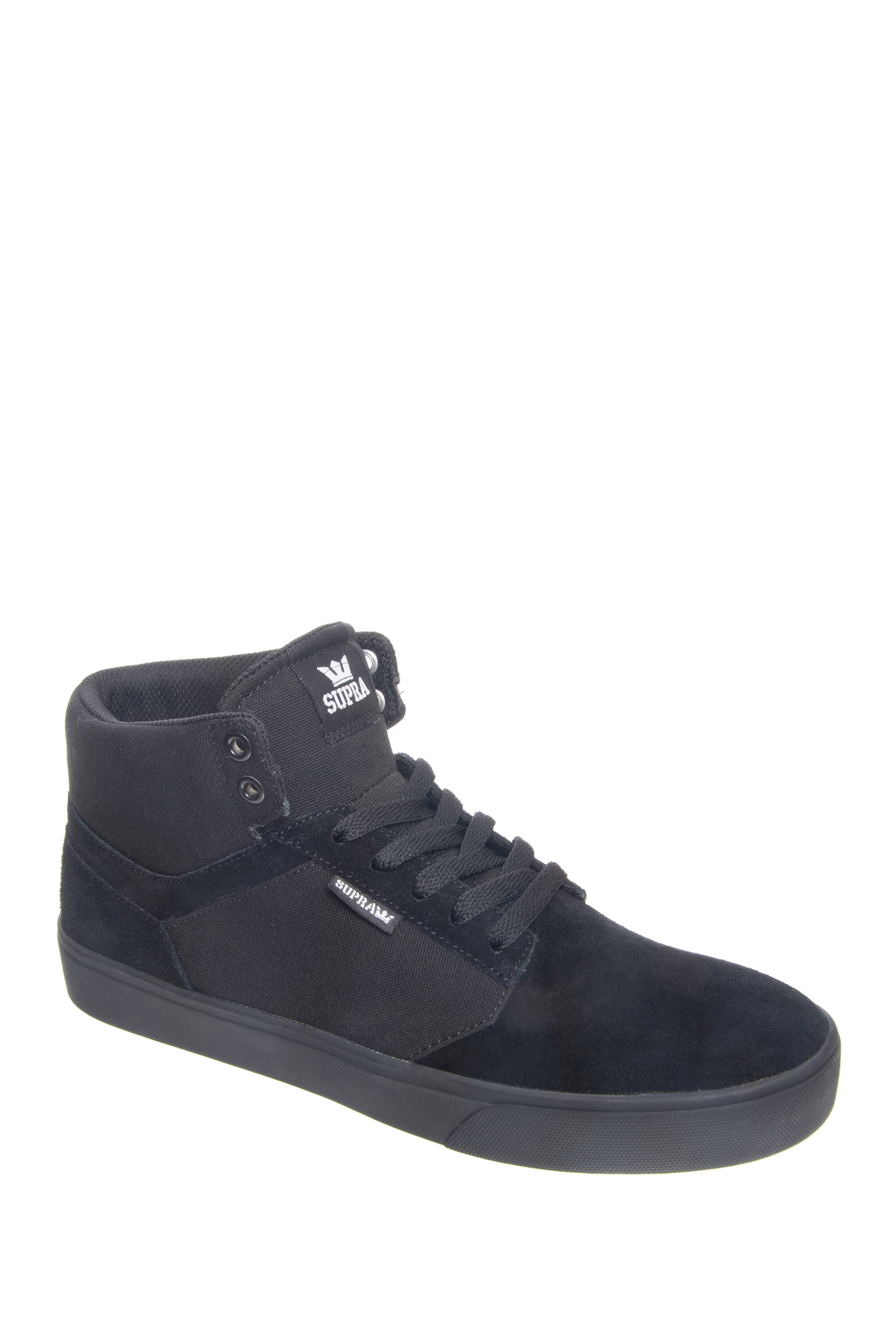 Supra Yorek High Top Sneakers - Black / Black - Black