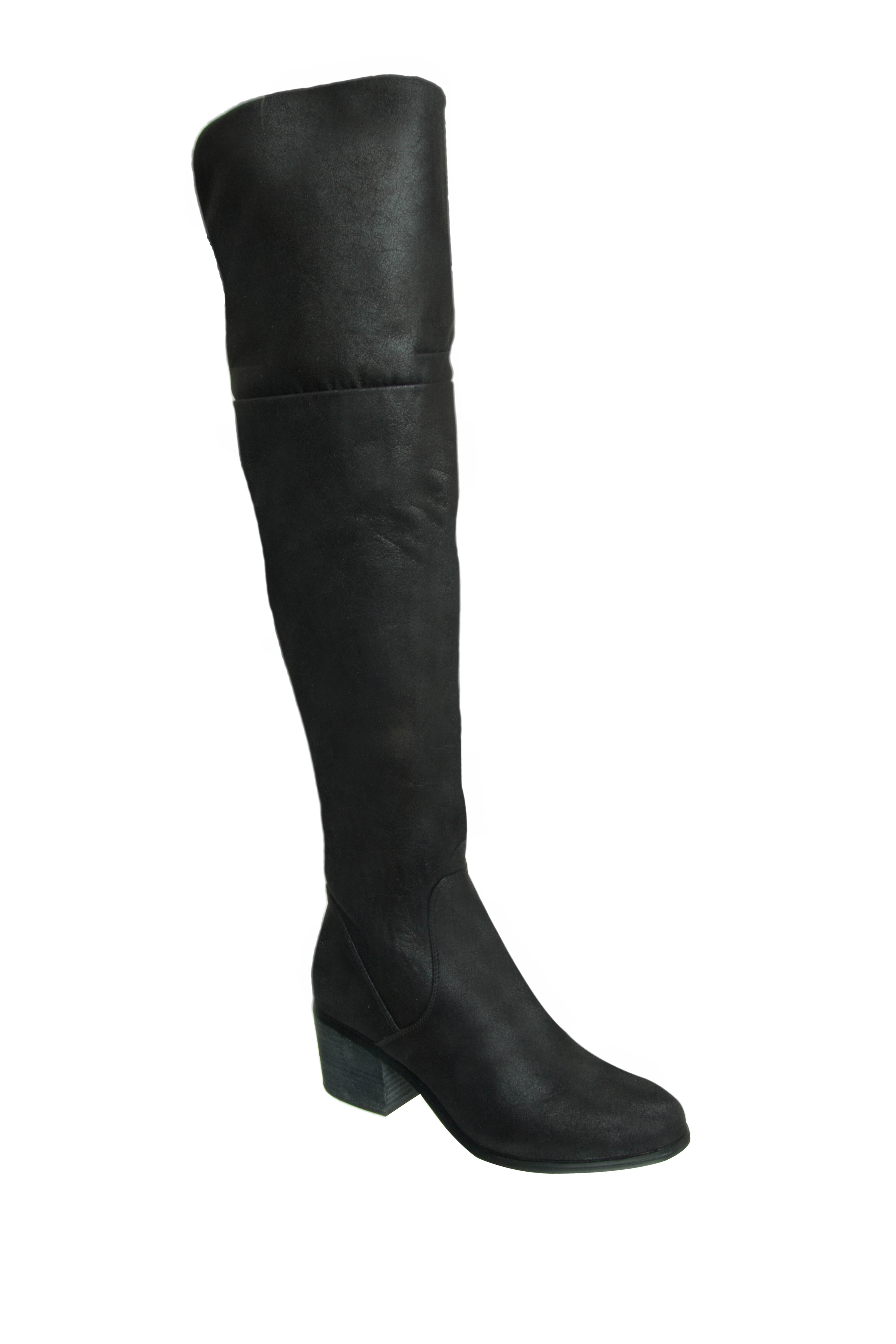 Report Fisher Over The Knee Boots - Black