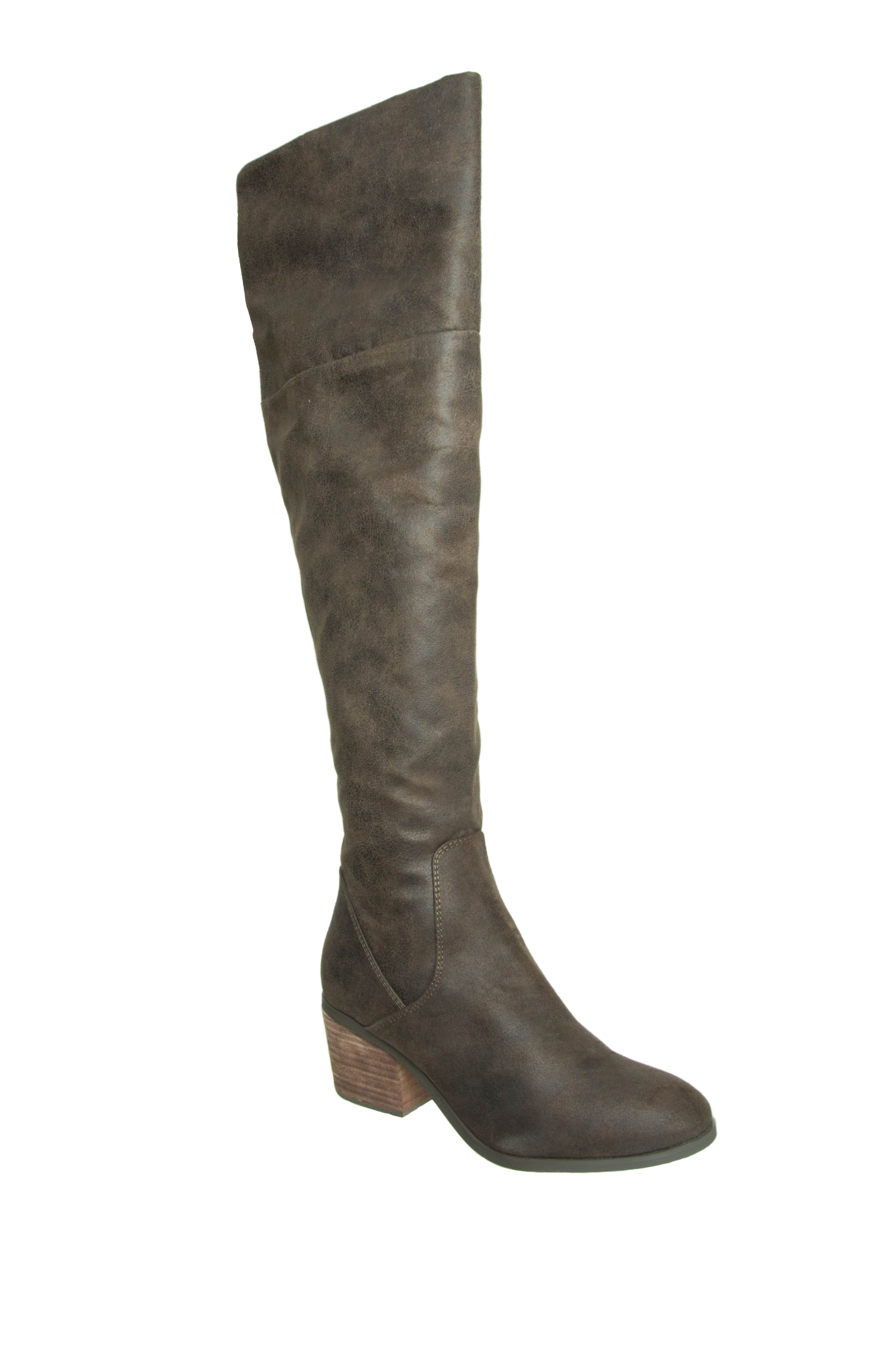 Report Fisher Over The Knee Boots - Brown