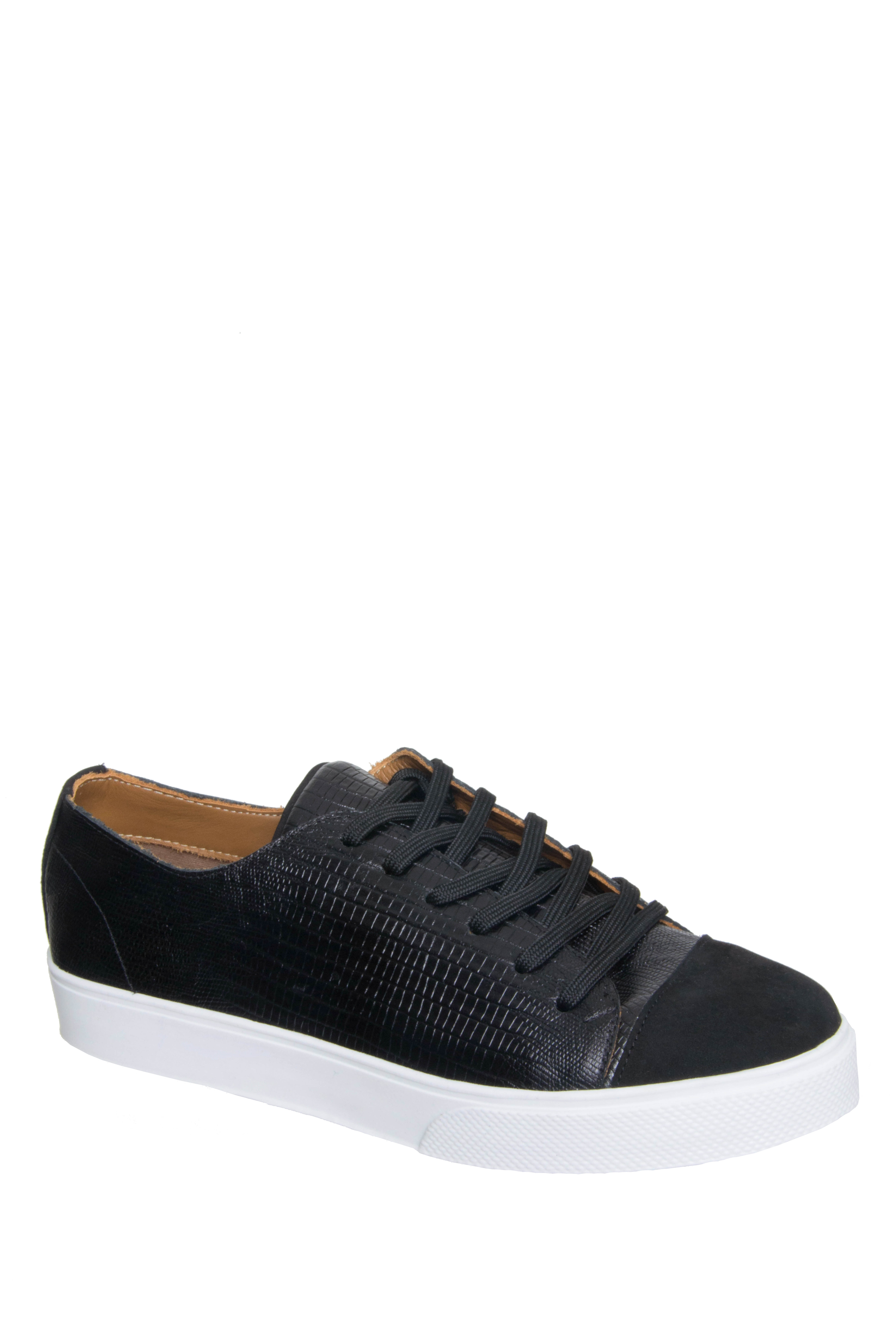 Kaanas Atacama Lace-up Low Top Sneakers - Black