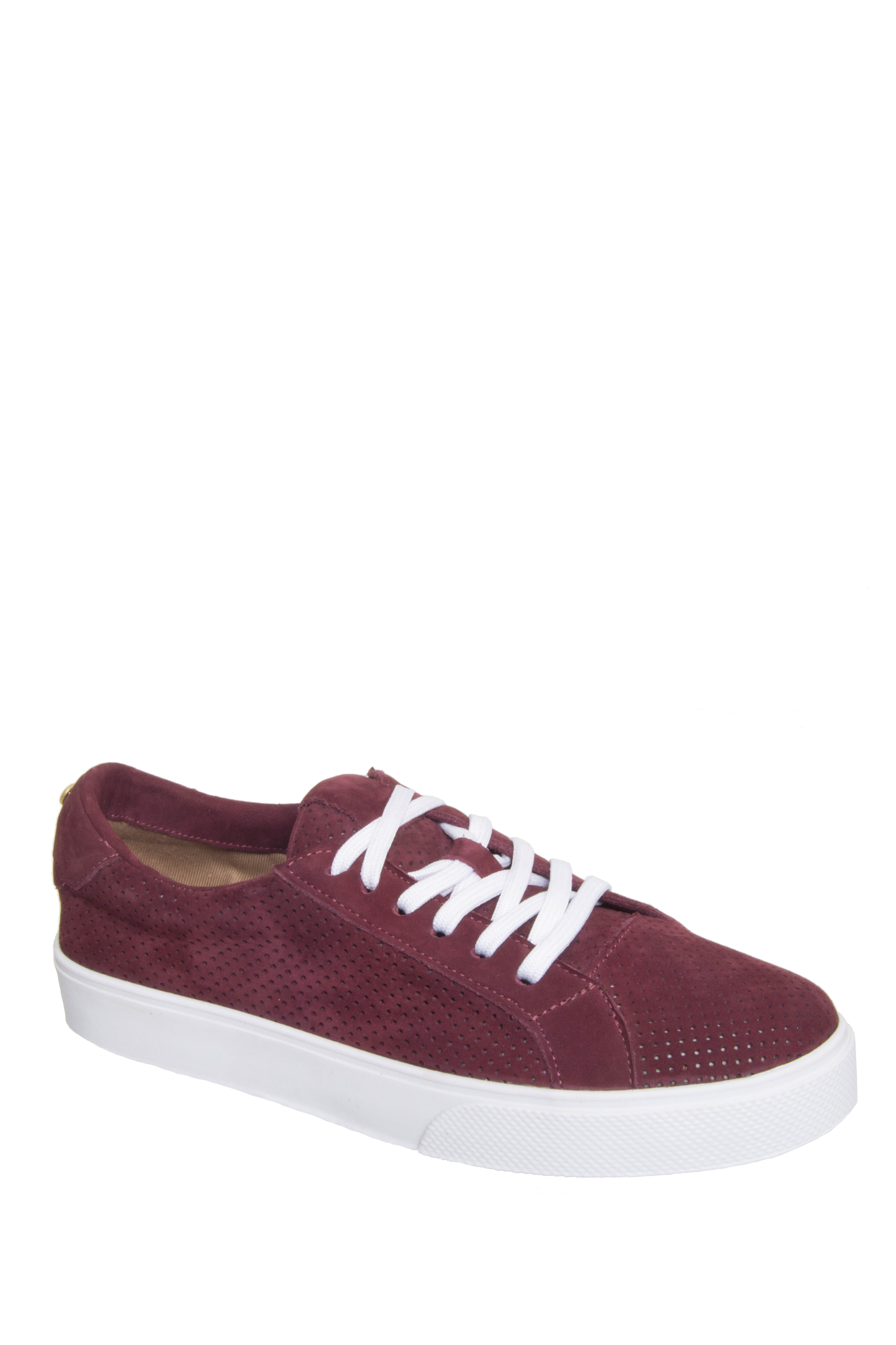 Kaanas Yuma Lace-Up Sneakers - Wine