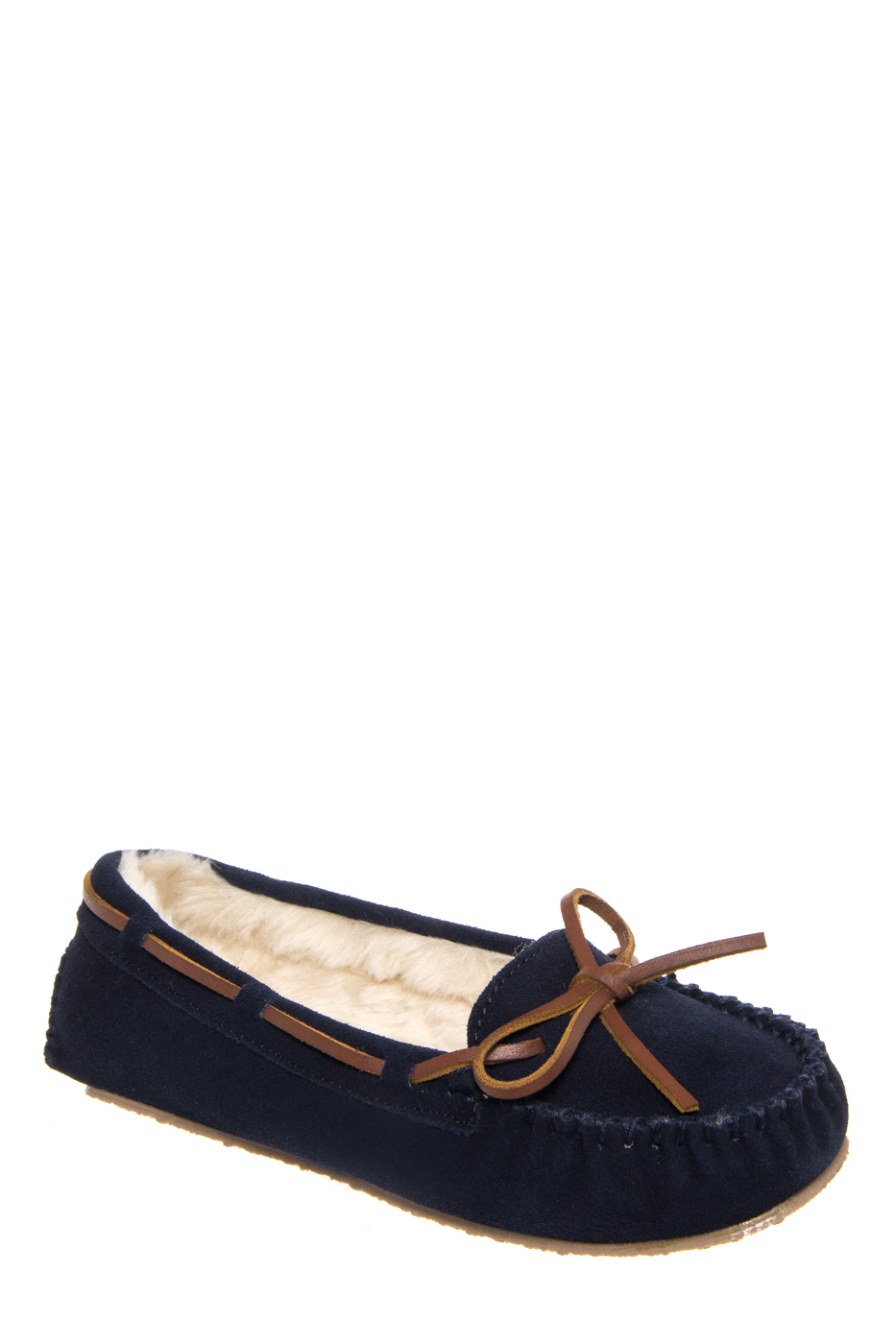 Minnetonka Cally Slipper Moccasins Flats Shoe