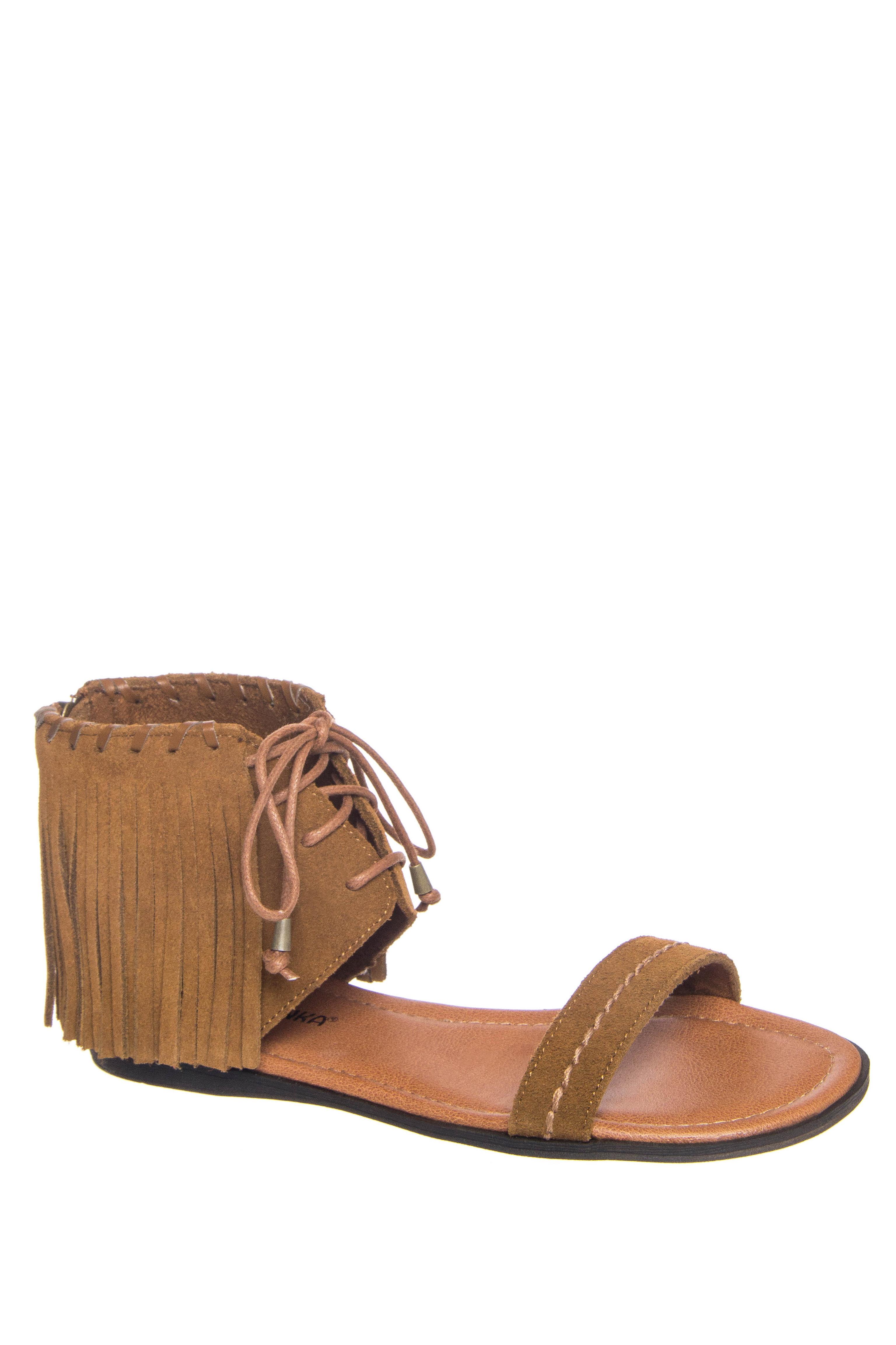 Minnetonka Havana Fringe Sandals