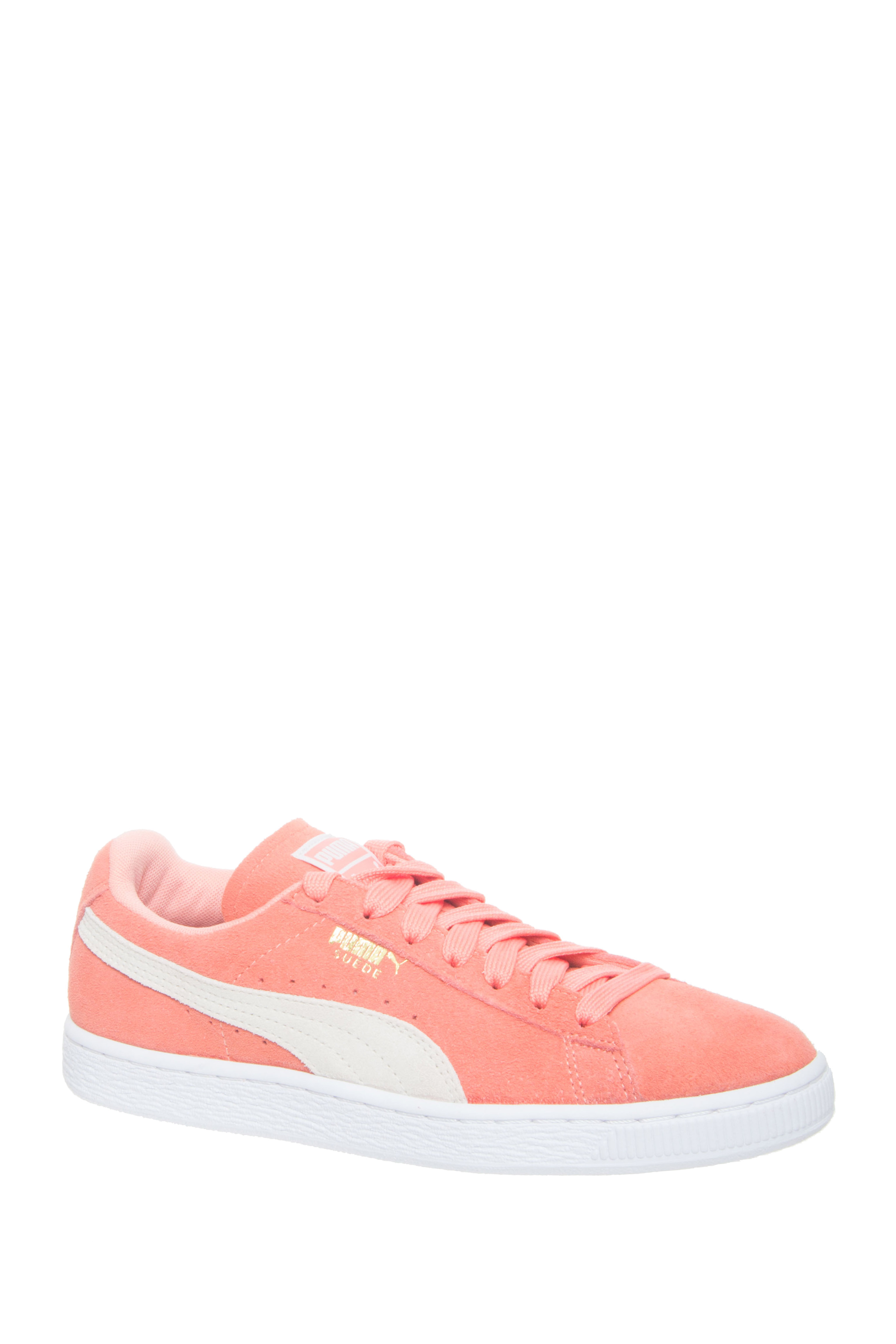 Puma Suede Classic Low Top Sneakers - Desert Flower-White
