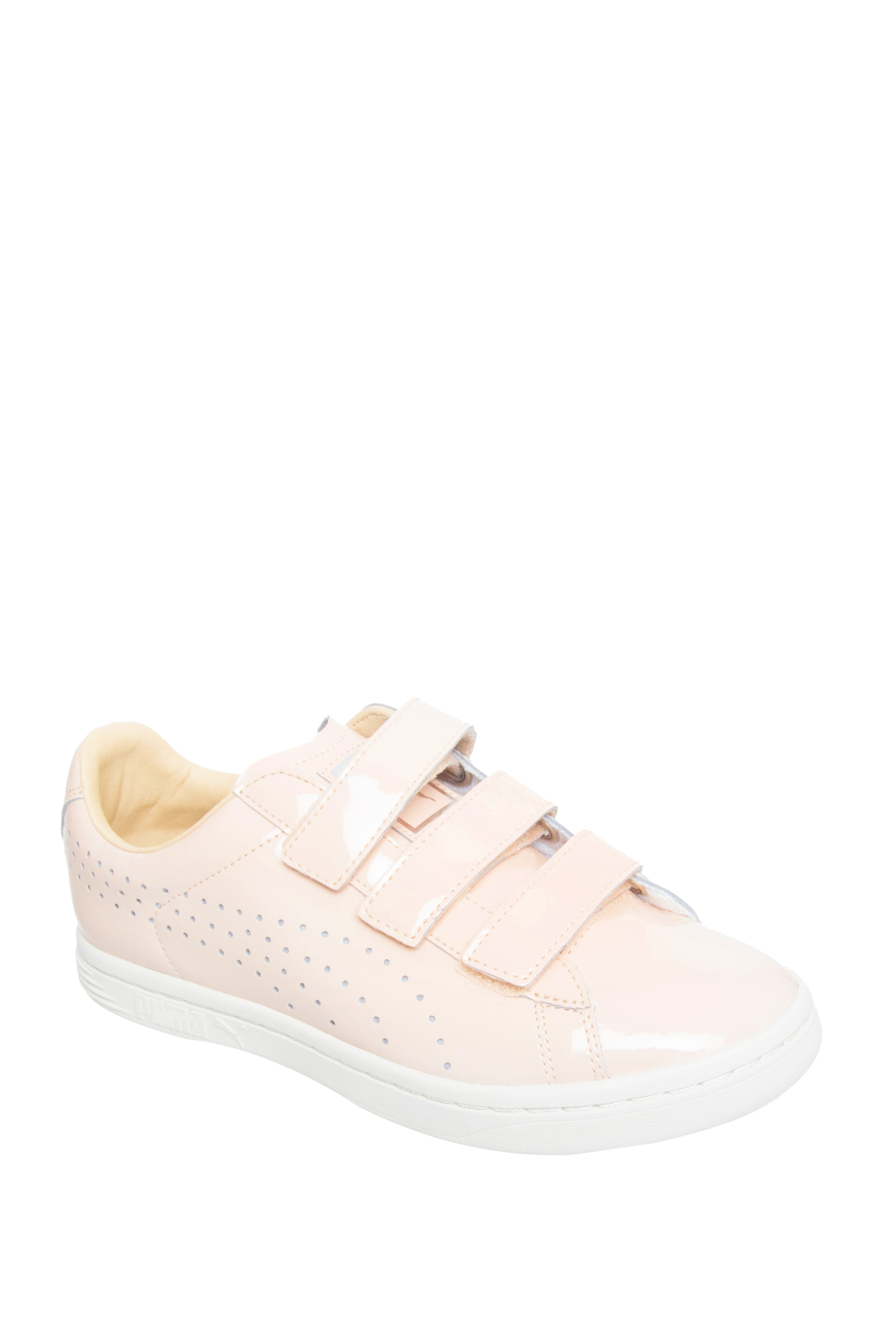 Puma Court Star Velcro Low Top Sneakers - Natural