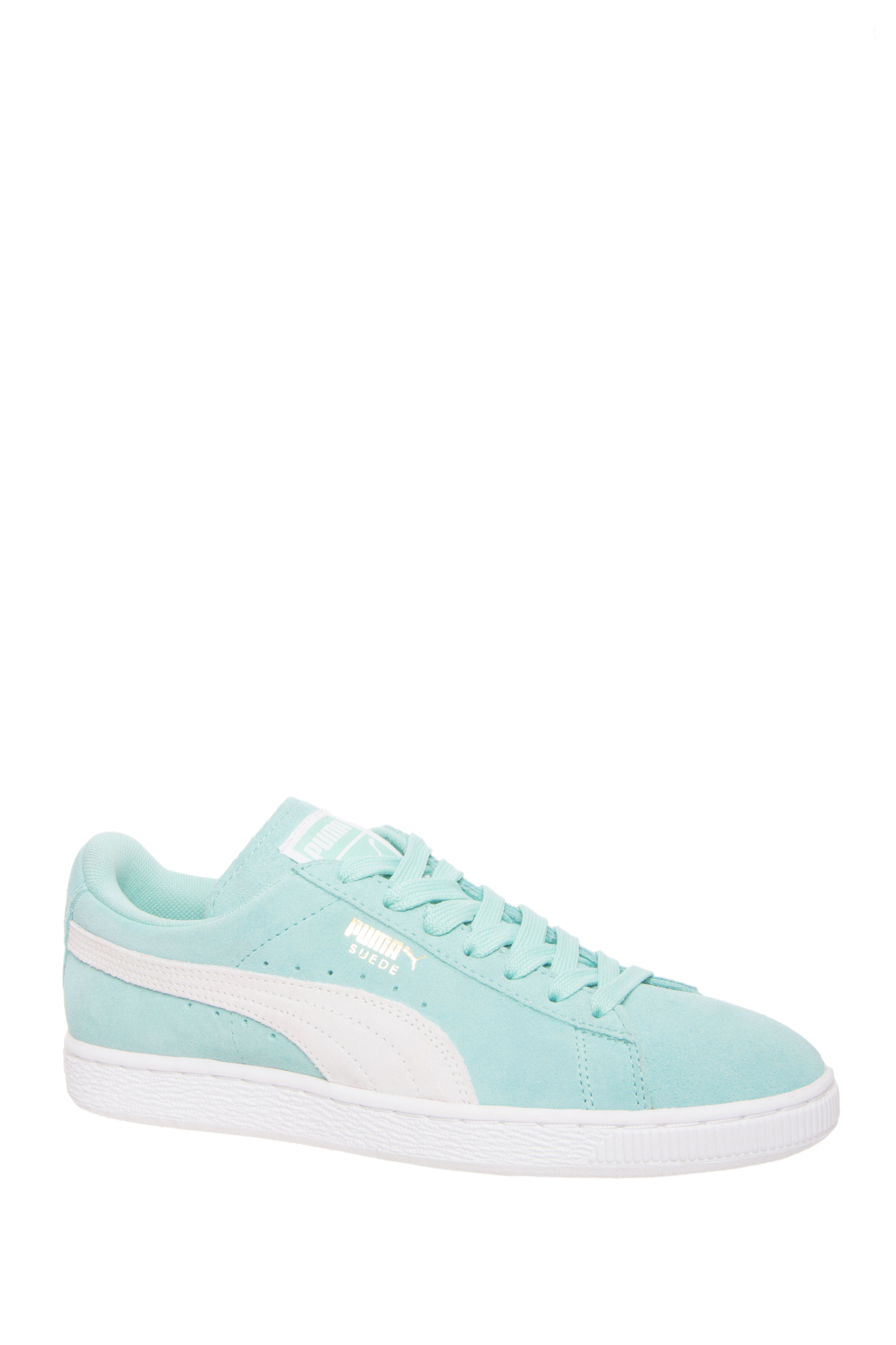 Puma Suede Classic Low Top Sneakers -  Holiday White