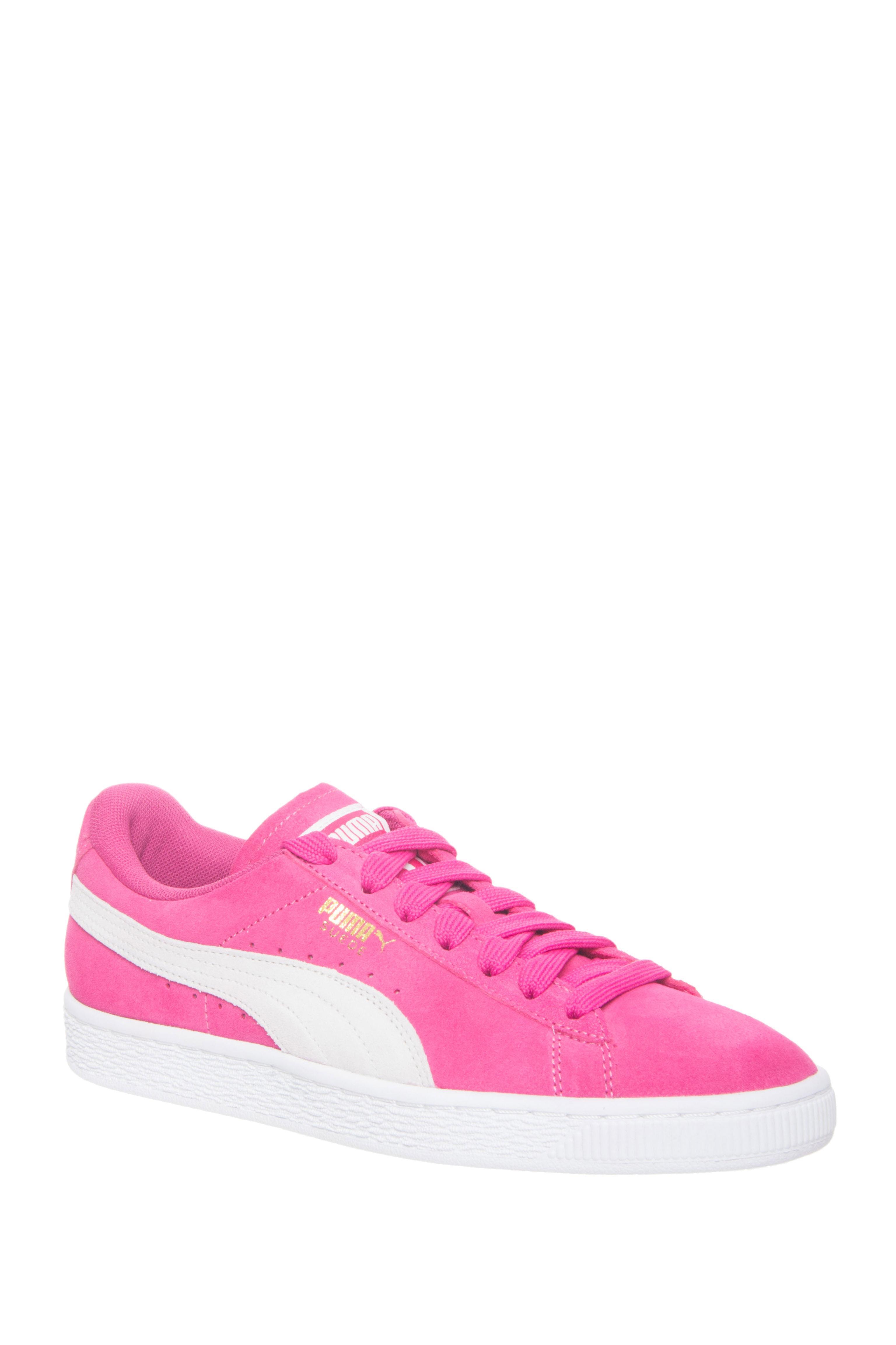 Puma Suede Classic Low Top Sneakers - Fuchsia