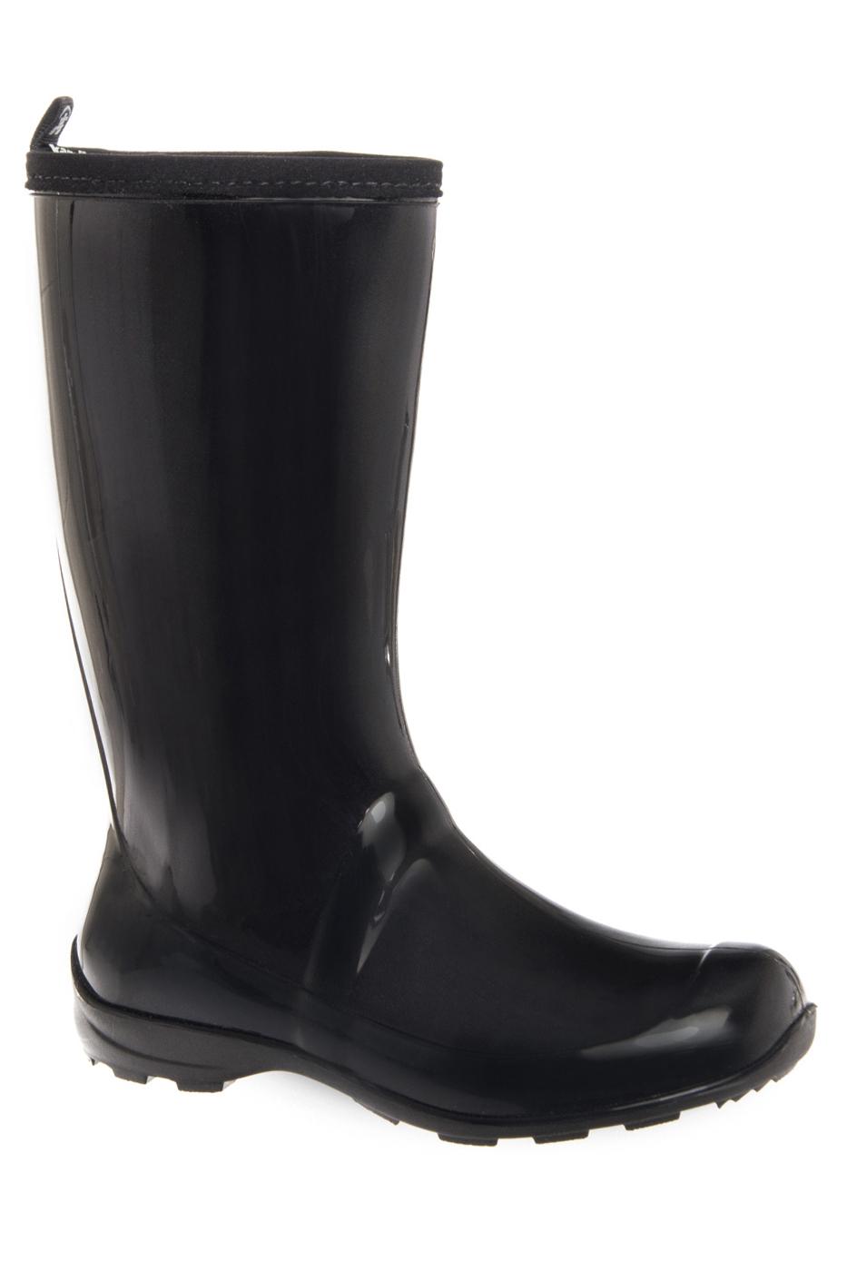 KAMIK Heidi Tall Lug Sole Rain Boots - Black