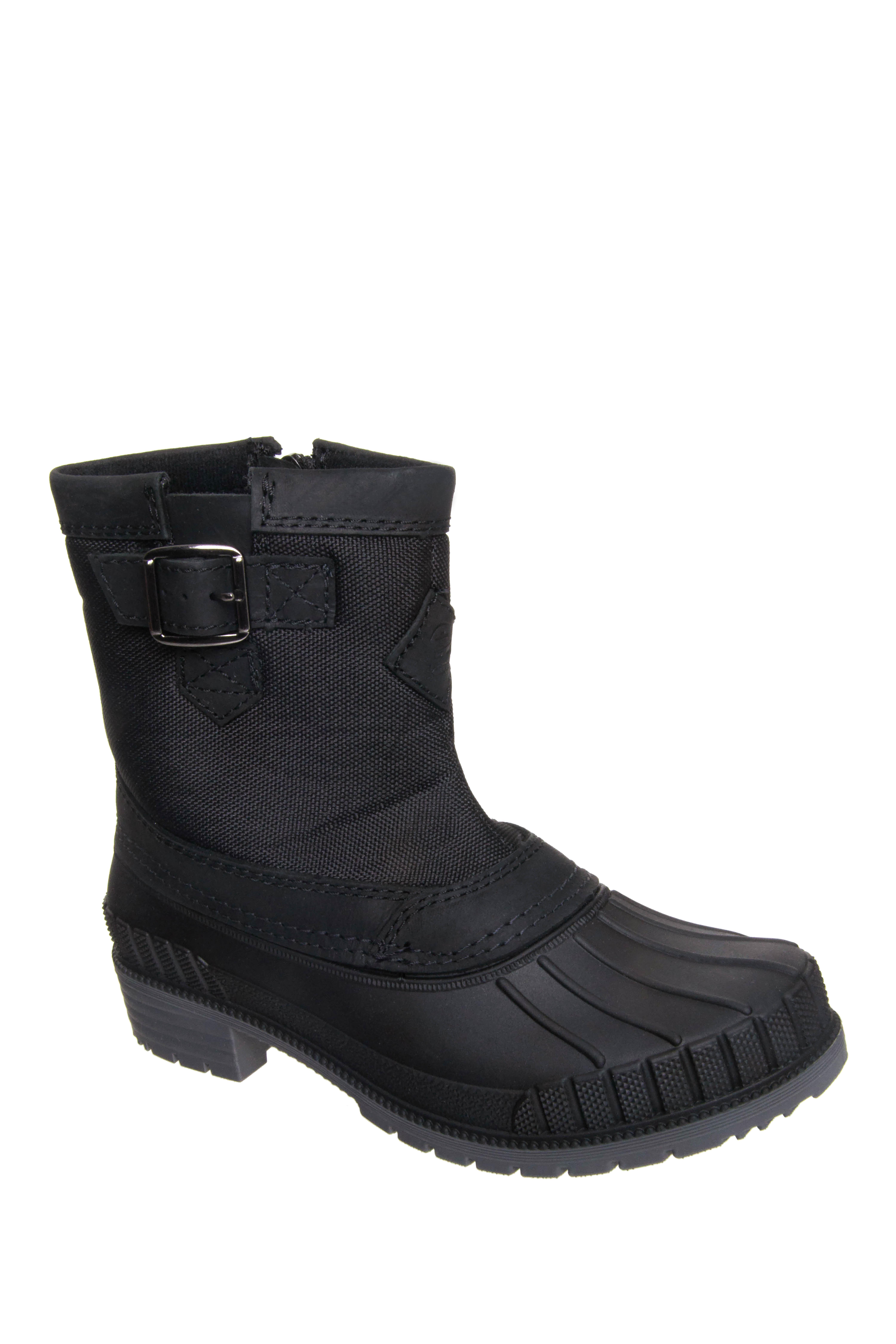Kamik Avelle Low Heel Snow Boots - Black