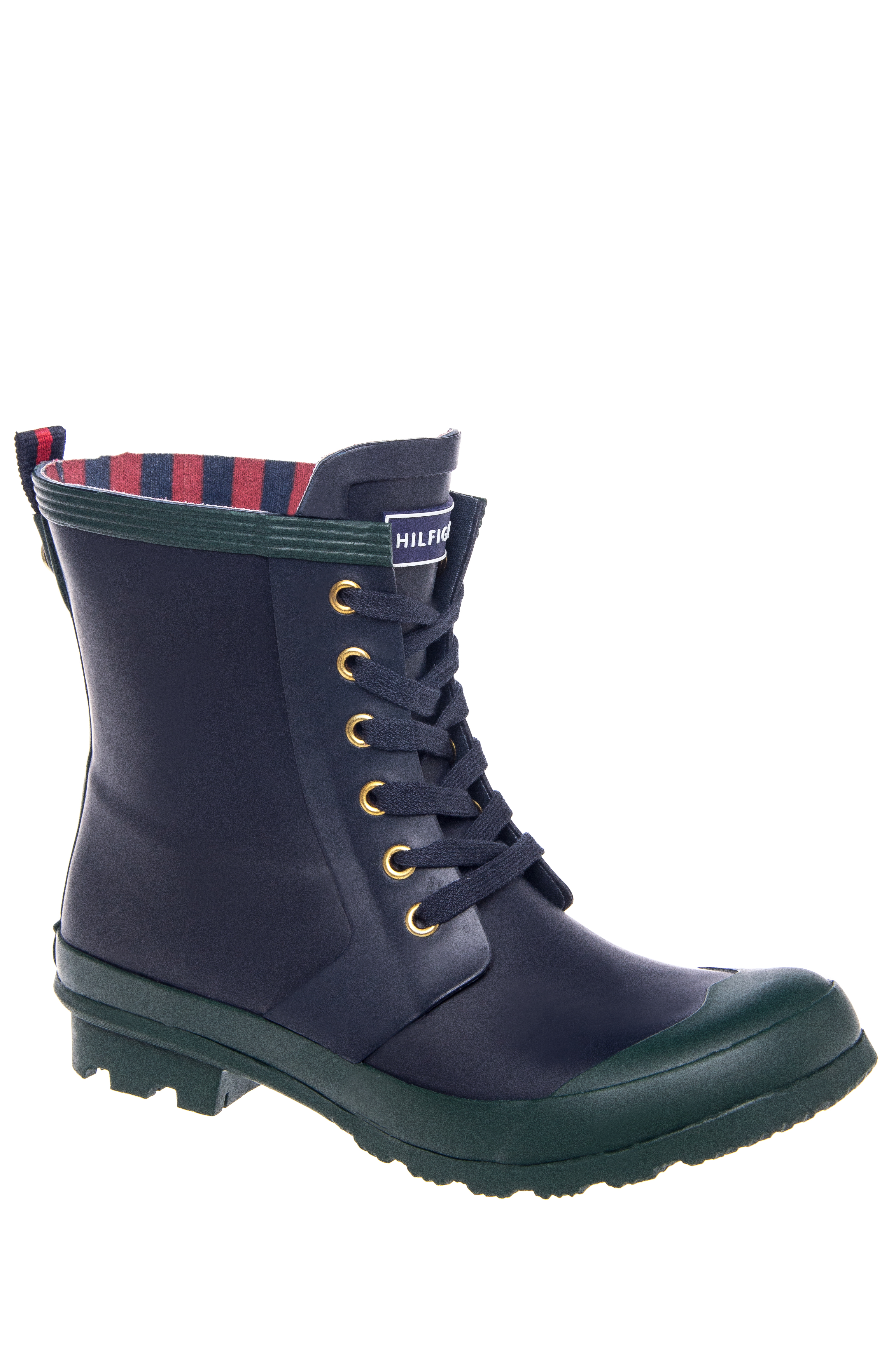 Tommy Hilfiger Renegade Lace-Up Boots - Medium Blue