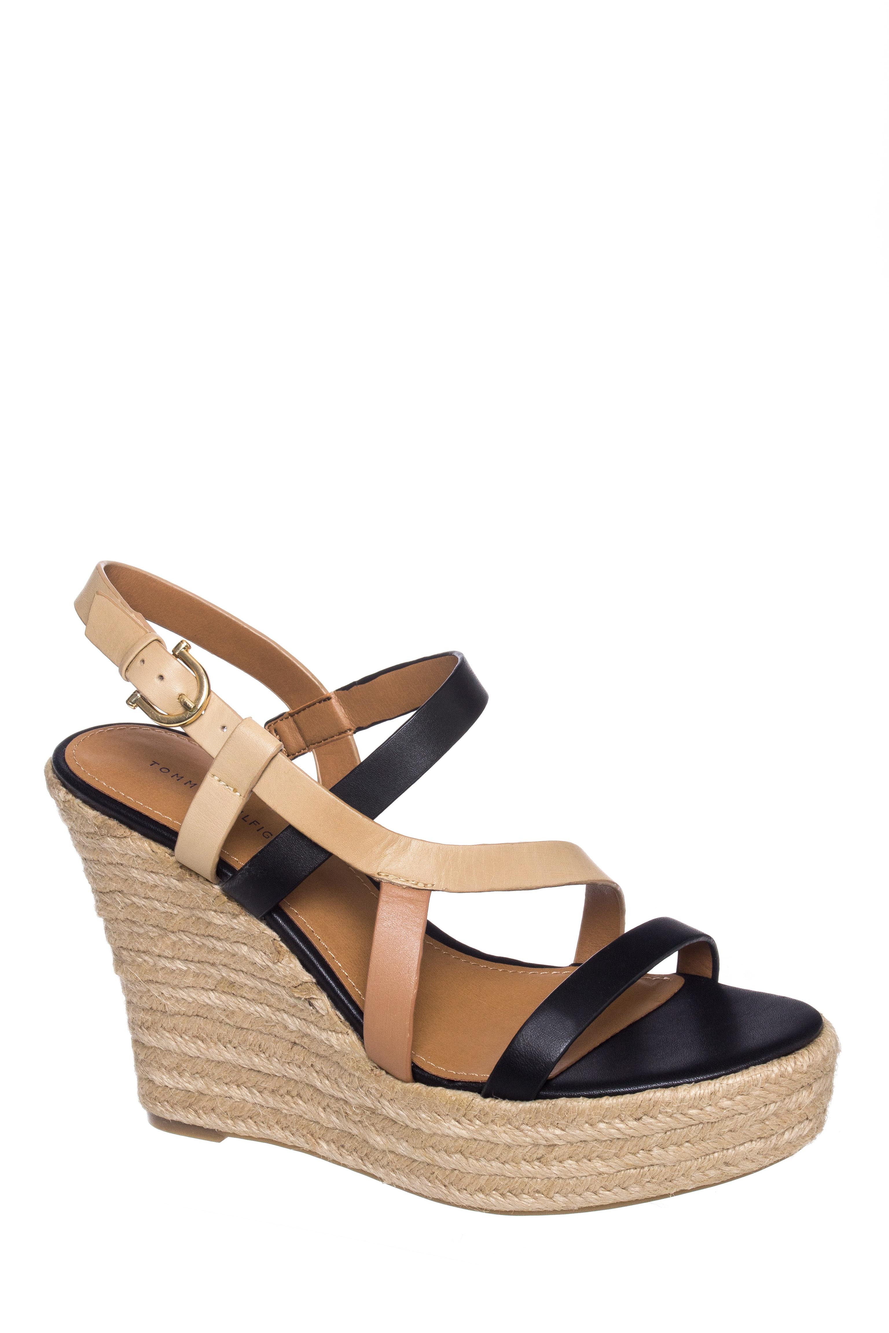 Tommy Hilfiger Abri Platform Wedge Sandals